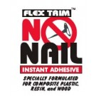 No Nail Glue - 4 oz bottle